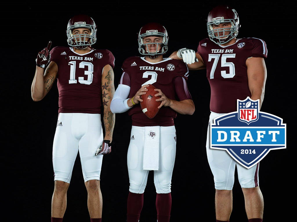 lowest price 6298d 70057 Three Aggies Expected in NFL First Round - Texas A&M ...