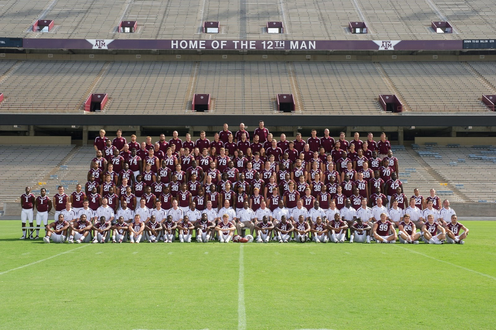 2012 0 Roster Texas A M University Athletics Home Of The 12th Man