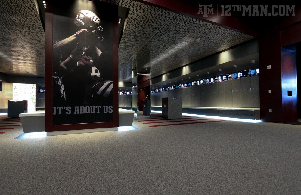 Bright Football Complex Facilities Texas A M Athletics Home Of The 12th Man