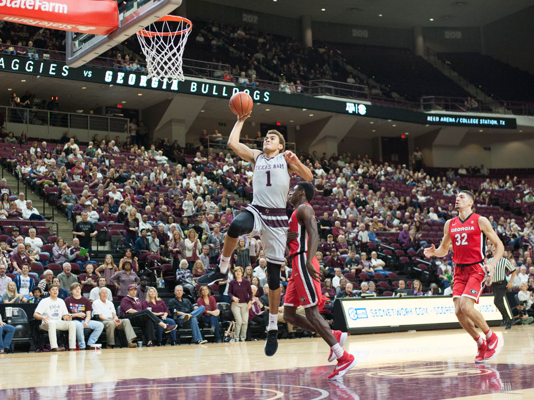 Williams, Hogg Lead Aggies to Come-from-Behind Win over