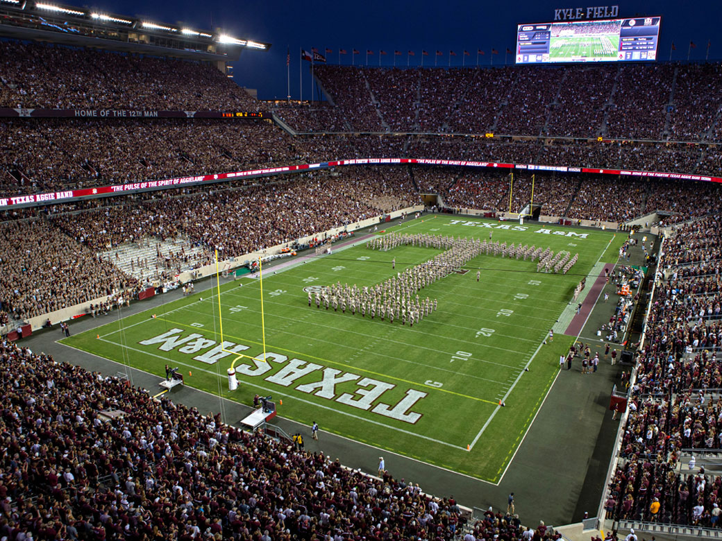 Kyle Field Facilities Texas A M Athletics Home Of The 12th Man