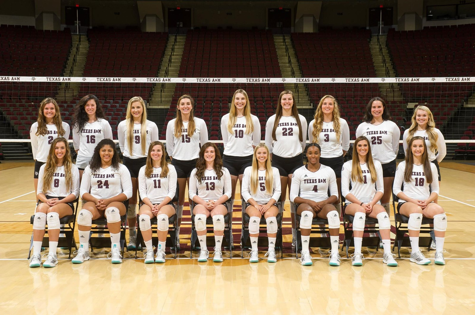 2017 Volleyball Roster Texas A M Athletics Home Of The 12th Man