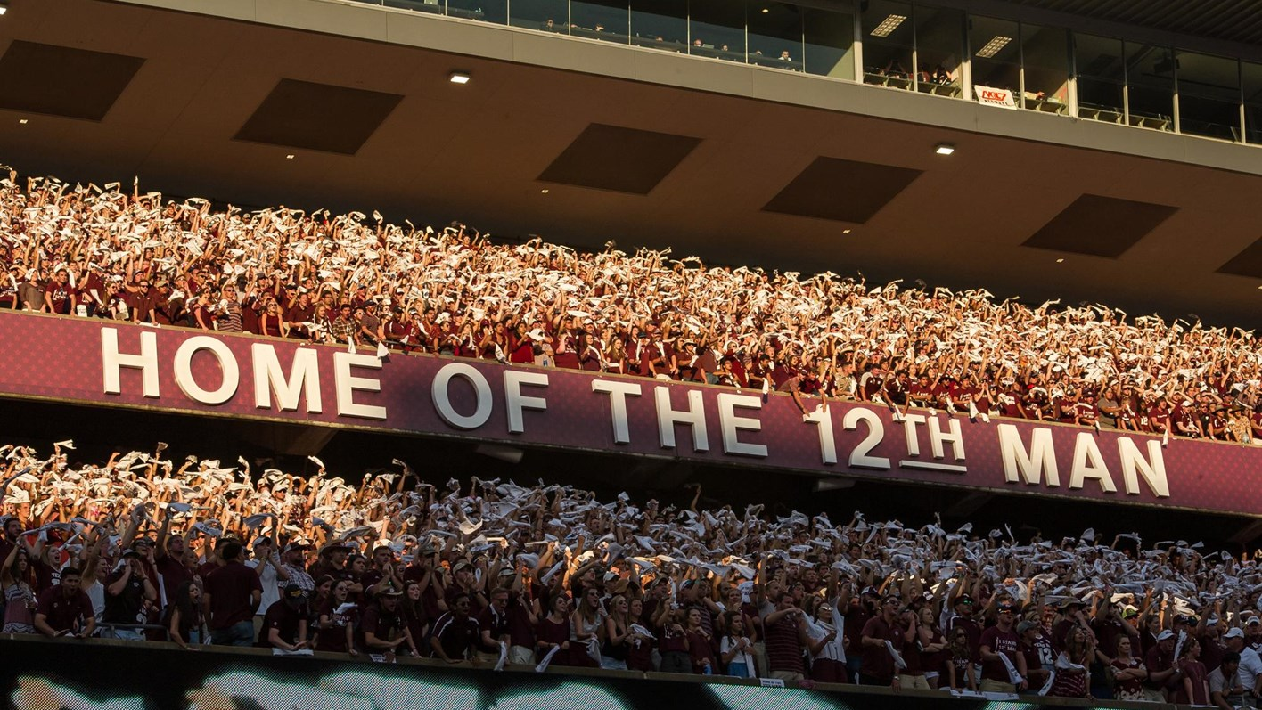Kyle Field Student Section Sold Out Again Texas Am