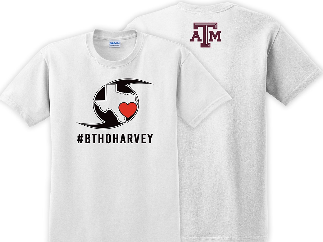 a18f58904 Texas A&M to Sell #BTHOharvey T-Shirts - Texas A&M Athletics - Home of the  12th Man