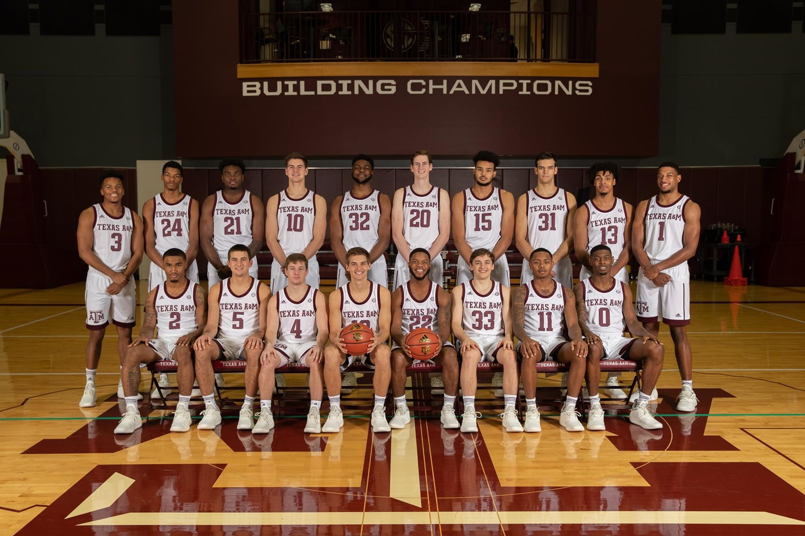 new arrival 4a76c 52877 2018-19 Men's Basketball Roster - Texas A&M Athletics - Home ...