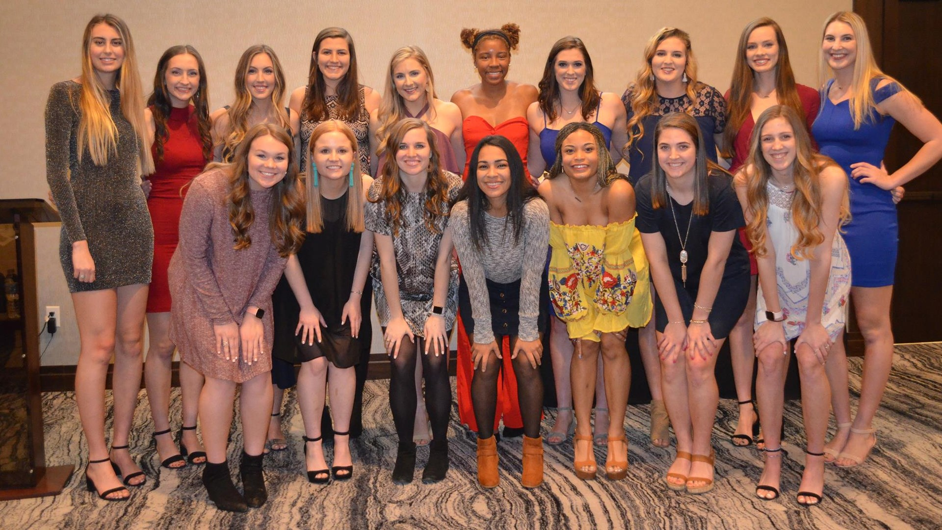 Texas A M Volleyball Presents Annual Awards At Team Banquet Texas A M Athletics Home Of The 12th Man