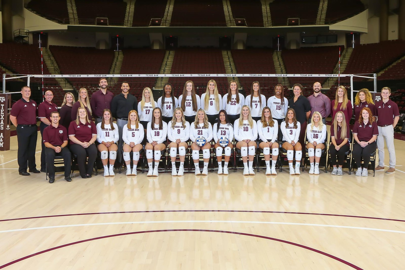 2019 Volleyball Roster Texas A M Athletics Home Of The 12th Man