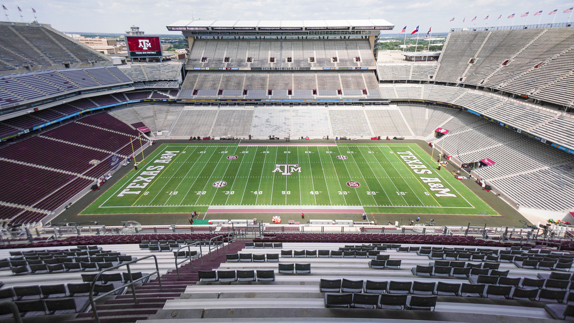 Kyle Field Gameday Making The Experience As Safe As Possible Texas A M Athletics Home Of The 12th Man
