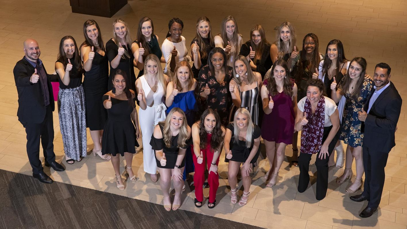 Volleyball Celebrates 2019 Season At Team S Annual Banquet Texas A M Athletics Home Of The 12th Man