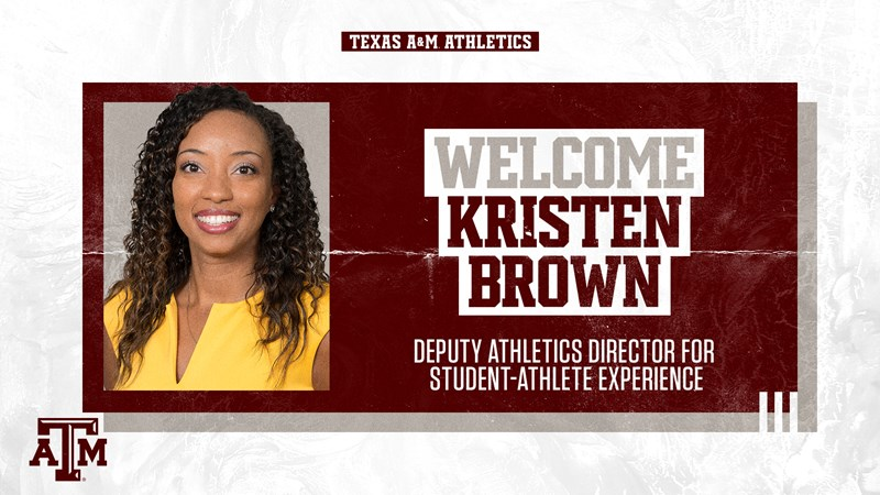 Bjork Selects Brown as Deputy AD for Student-Athlete Experience - Texas A&M Athletics - Home of the 12th Man