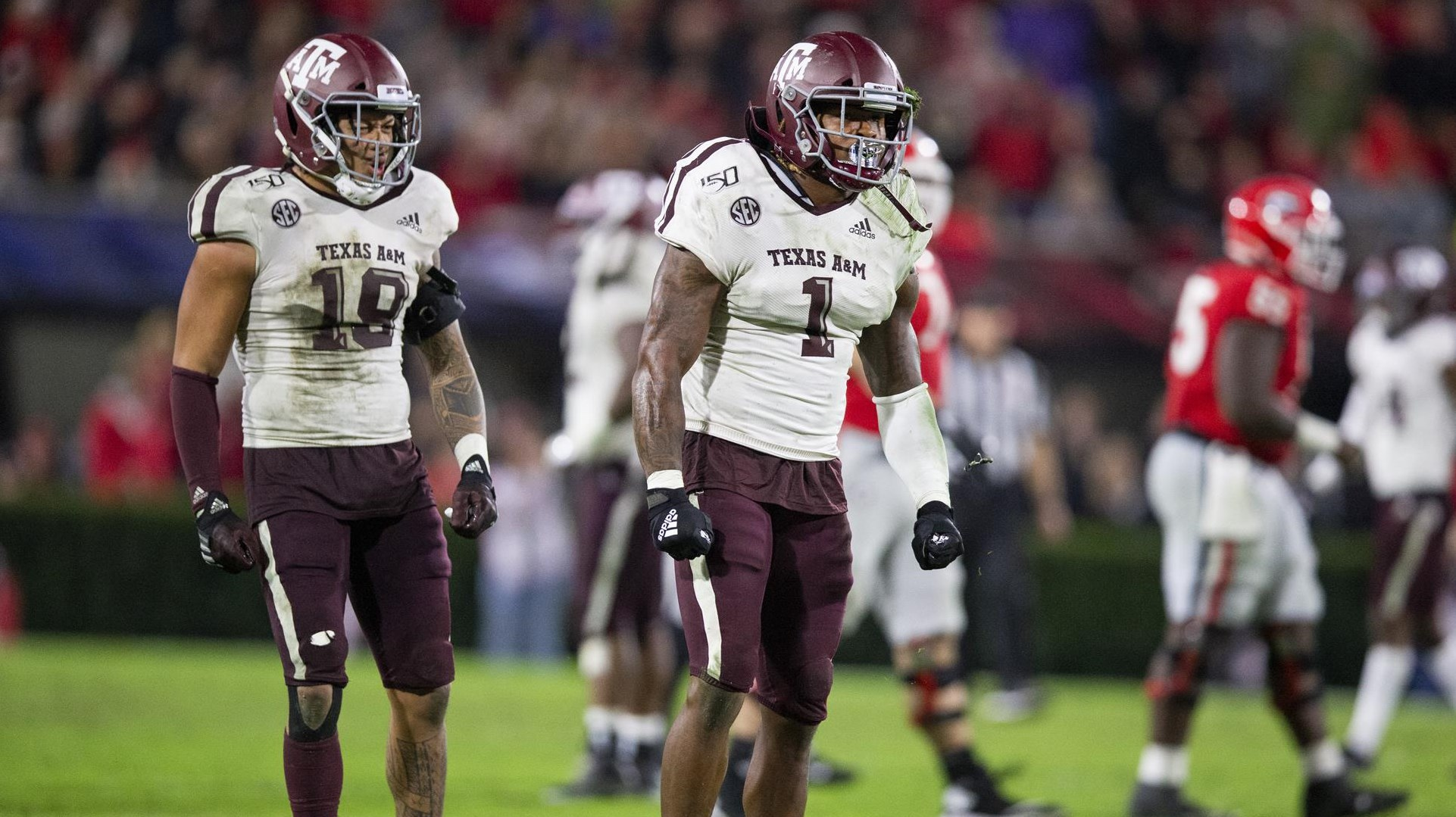 2020 Texas A M Football Position Breakdown Linebackers Texas A M Athletics Home Of The 12th Man