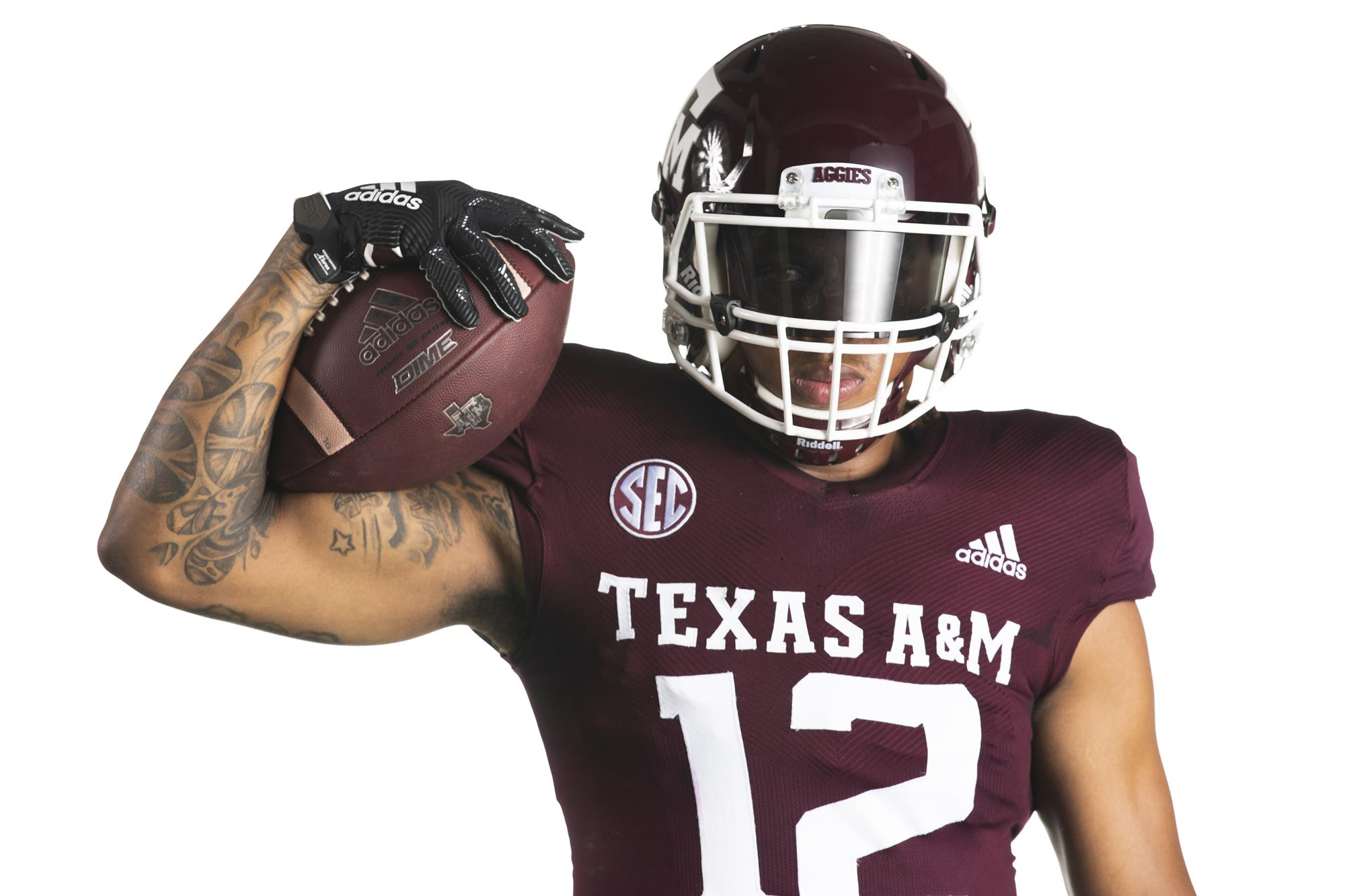 Adidas Football Reveal New Uniforms Texas A M Athletics Home Of The 12th Man